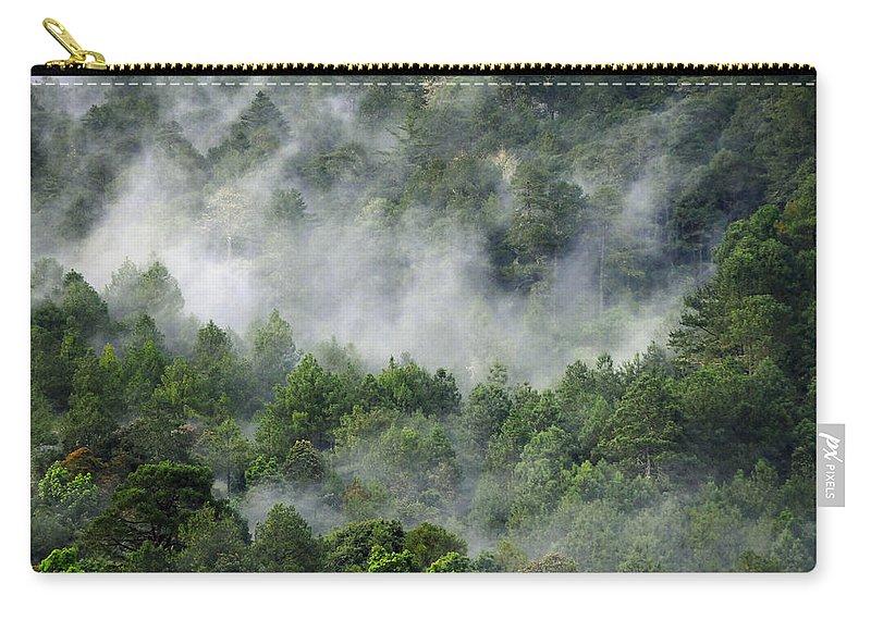 Skip Hunt Carry-all Pouch featuring the photograph Mistico de San Jose de Pacifico by Skip Hunt