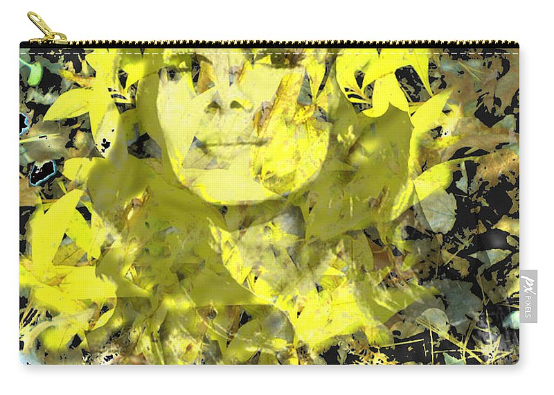 Mistress Of Autumn Carry-all Pouch featuring the digital art Mistress of Autumn by Seth Weaver