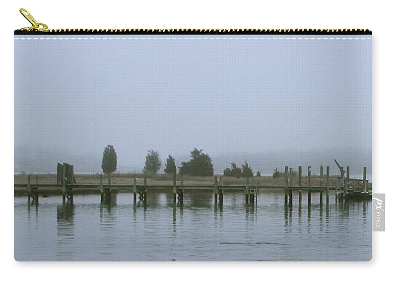 Fog Carry-all Pouch featuring the photograph Misty Morning by Rick Monyahan