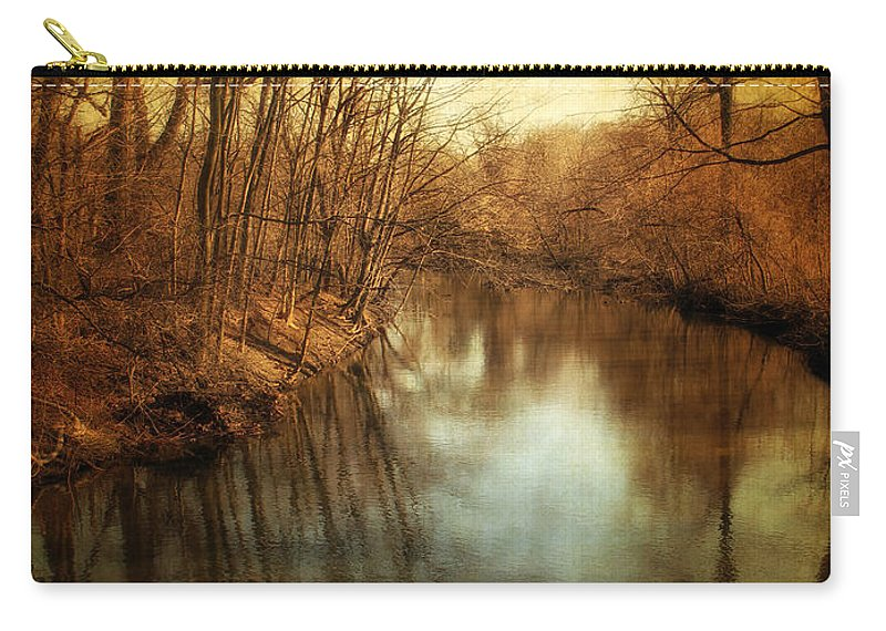 Landscape Carry-all Pouch featuring the photograph Misty Waters by Jessica Jenney
