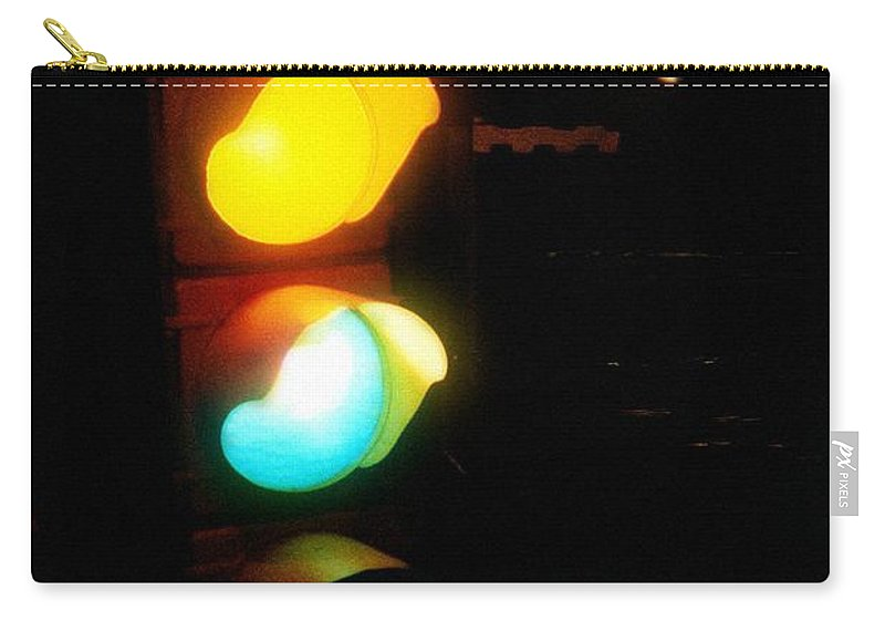 Contemporary Carry-all Pouch featuring the photograph Mixed Signals by RC DeWinter