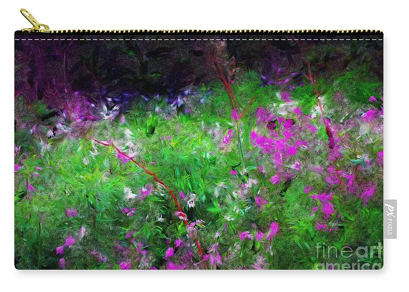 Digital Photograph Carry-all Pouch featuring the photograph Mixed Up by David Lane