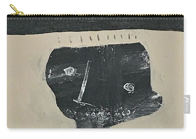 Abstract Carry-all Pouch featuring the painting Mmxvii Memories No 2 by Mark M Mellon