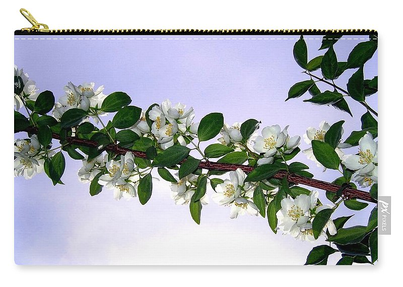 Mock Orange Carry-all Pouch featuring the photograph Mock Orange by Will Borden