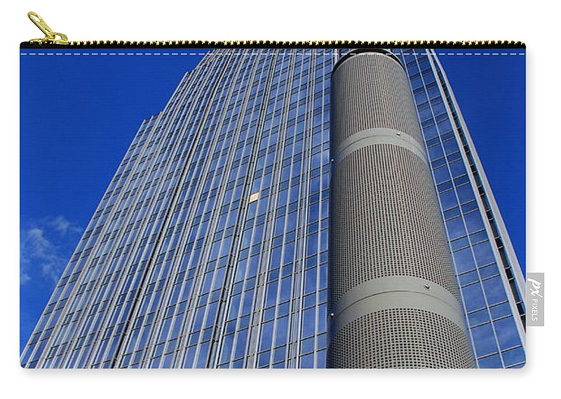Glass Building Carry-all Pouch featuring the photograph Modern Architecture II by Susanne Van Hulst