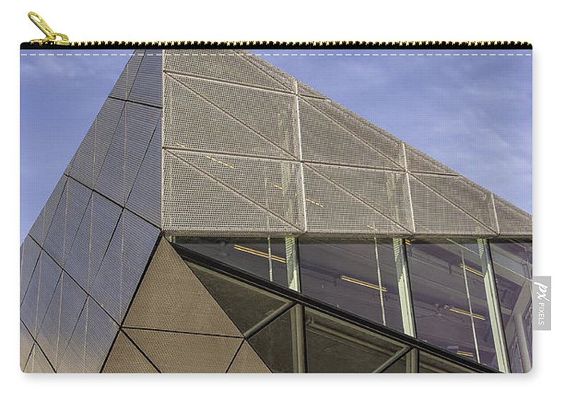 Architecture Carry-all Pouch featuring the photograph Modern Detail by Antony McAulay