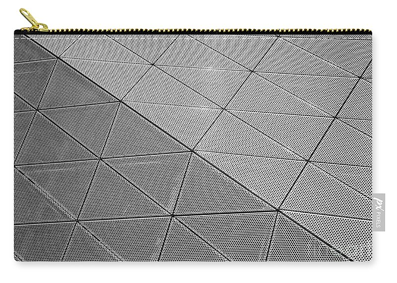 Architecture Carry-all Pouch featuring the photograph Modern Detail Background by Antony McAulay