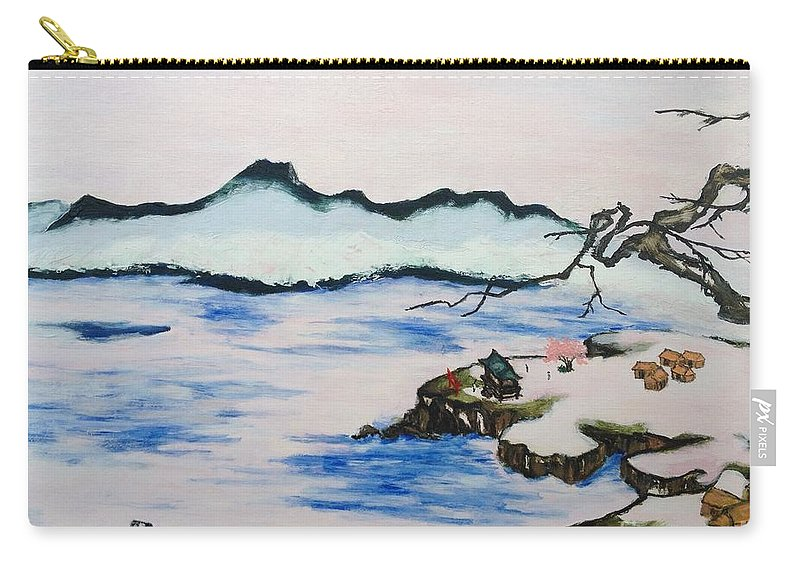 Modern Japanese Art In The Shadow Of The Past - Utsumi And Kano School  Carry-all Pouch