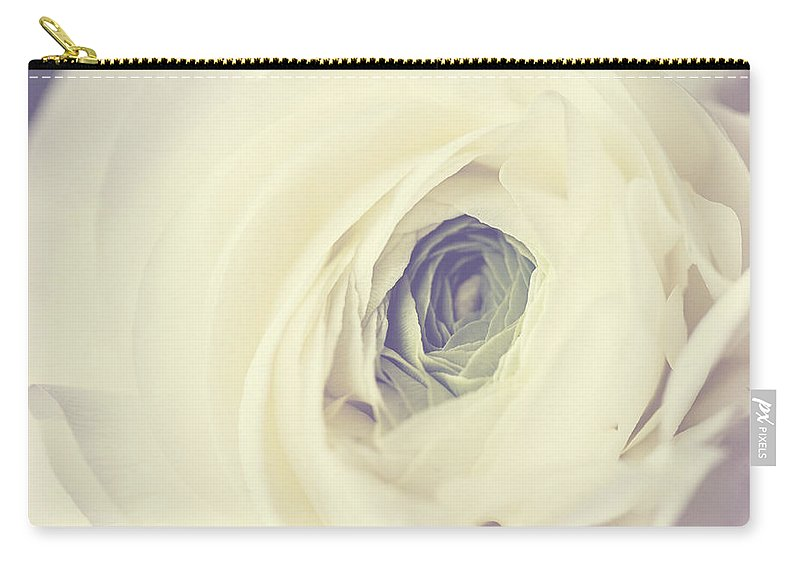Ranunculus Carry-all Pouch featuring the photograph Modern Ranunculus by Lisa Russo