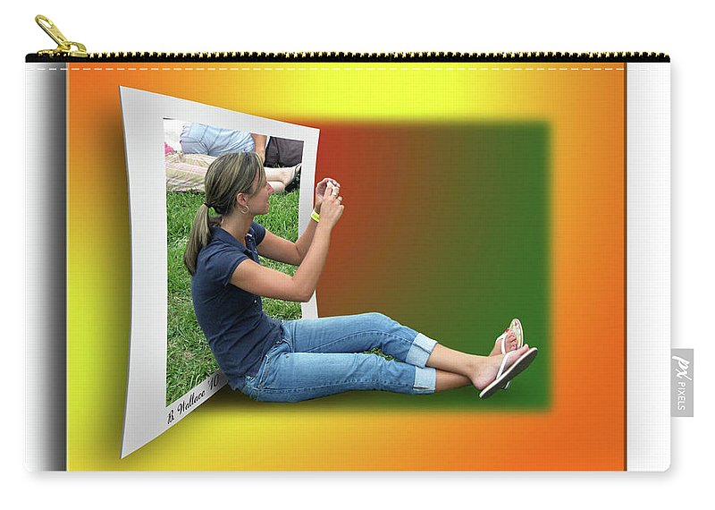 2d Carry-all Pouch featuring the photograph Modern Technology by Brian Wallace