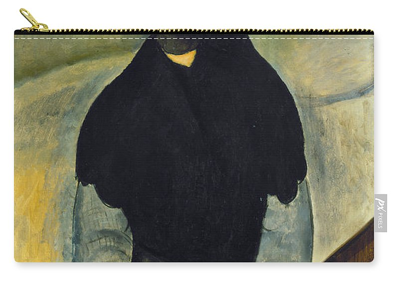 1918 Carry-all Pouch featuring the photograph Modigliani: Woman, 1918 by Granger
