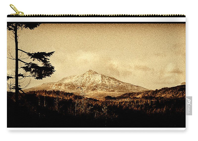Moel Carry-all Pouch featuring the photograph Moel Siabod by Mal Bray