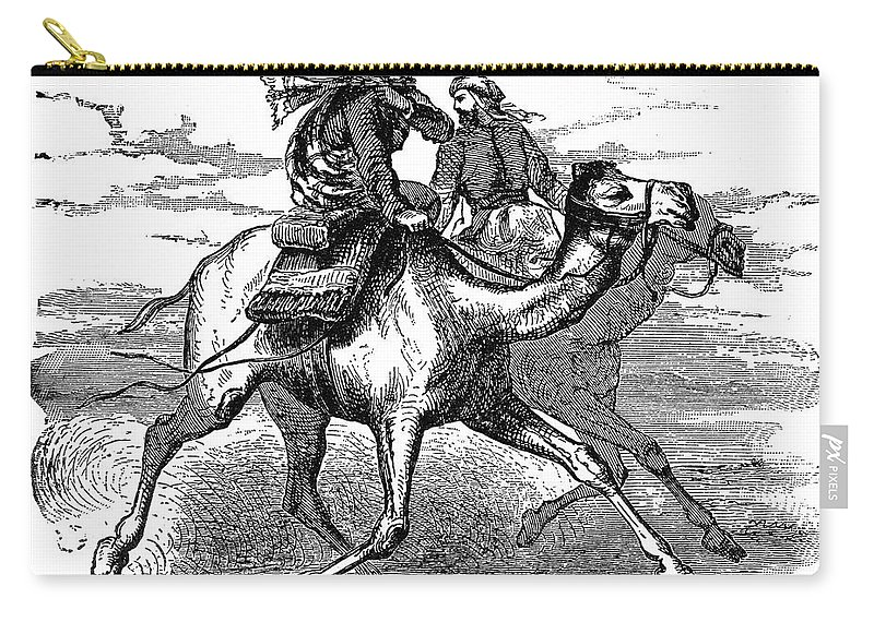 622 Carry-all Pouch featuring the photograph Mohammed (570-632) by Granger