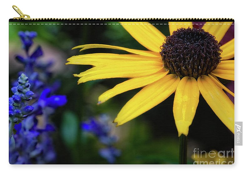 Sunflower Carry-all Pouch featuring the photograph Mom's Garden by Doug Sturgess