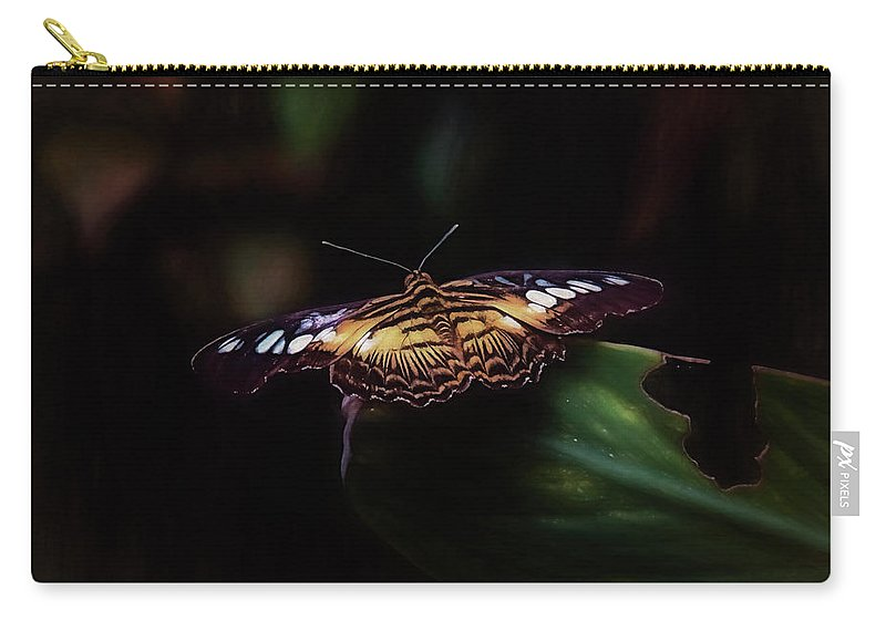 Monarch Carry-all Pouch featuring the photograph Monarch Butterfly by Daniel Penn