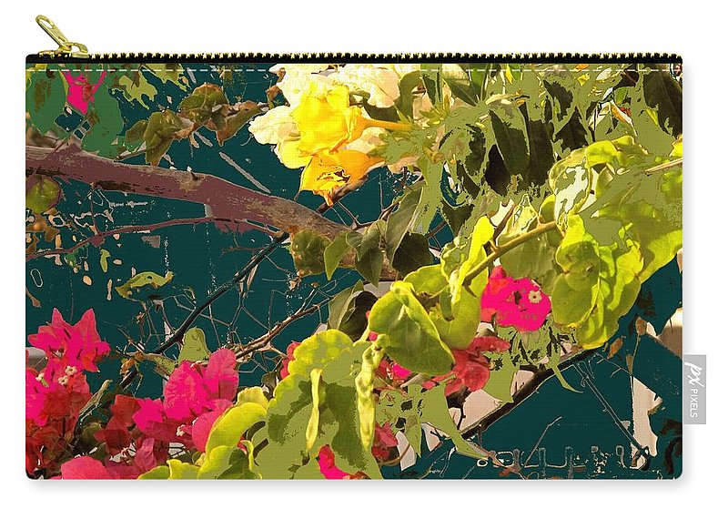 Carry-all Pouch featuring the photograph Monica by Ian MacDonald