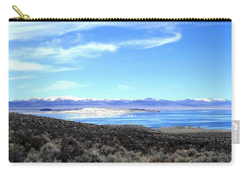 Mono Lake Carry-all Pouch featuring the photograph Mono Lake by Will Borden