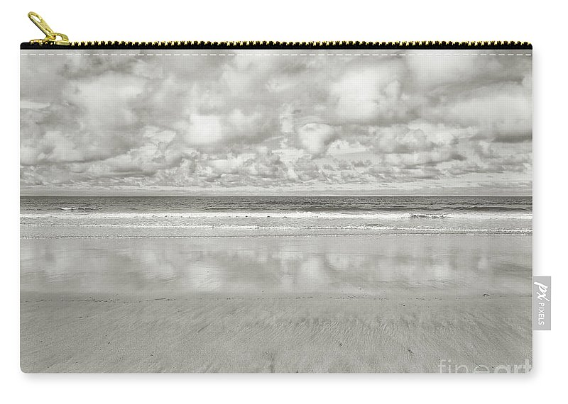 Beach Carry-all Pouch featuring the photograph On The Beach 4 by Nicholas Burningham