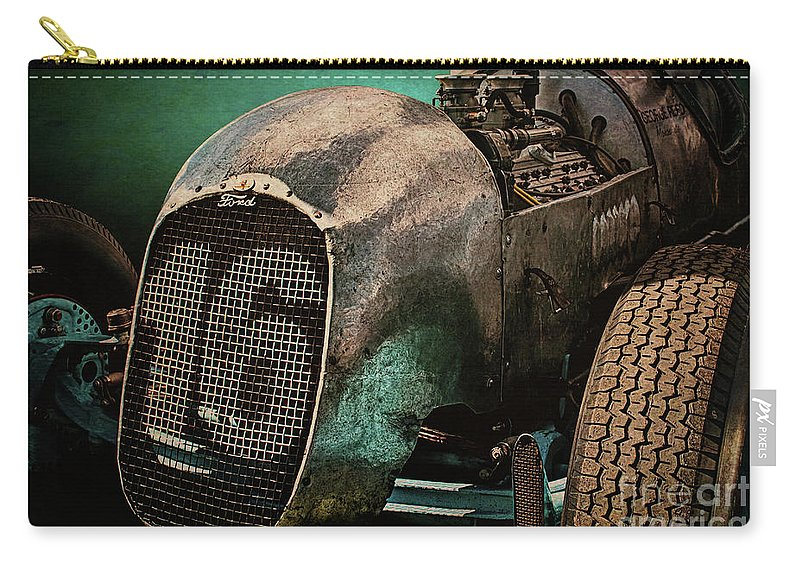 Monoskate Carry-all Pouch featuring the photograph Monoskate George Reed Special by Stuart Row