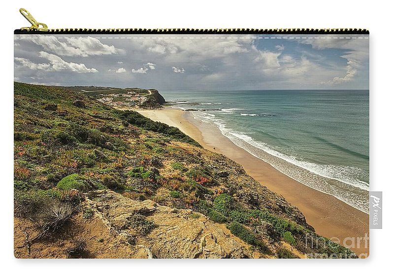 Portugal Carry-all Pouch featuring the photograph Monte Clerigo by Colette Panaioti