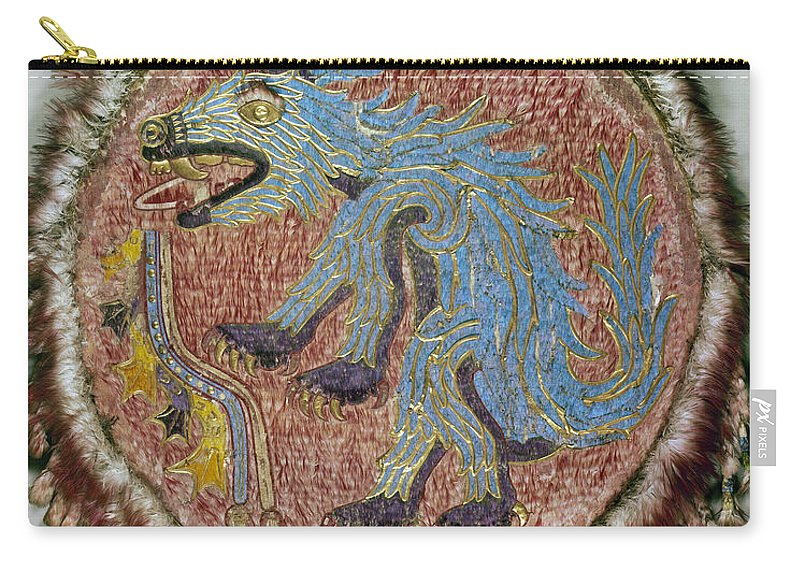 16th Century Carry-all Pouch featuring the photograph Montezuma II: Shield by Granger