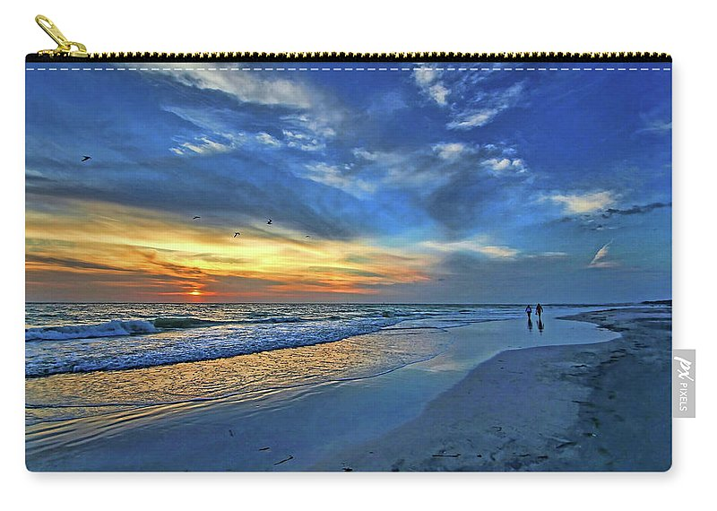 Gulf Of Mexico Carry-all Pouch featuring the photograph Moody Blues by HH Photography of Florida