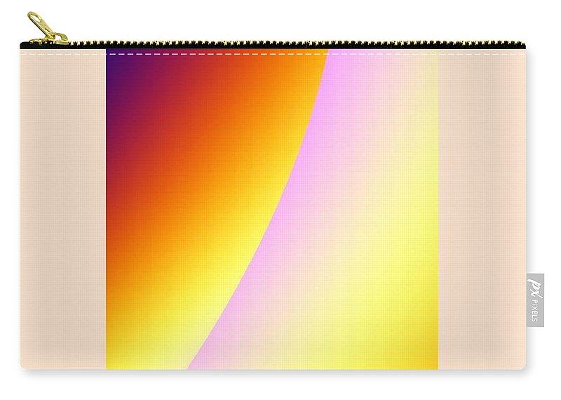 Digital Art Carry-all Pouch featuring the digital art Moon II by Dragica Micki Fortuna