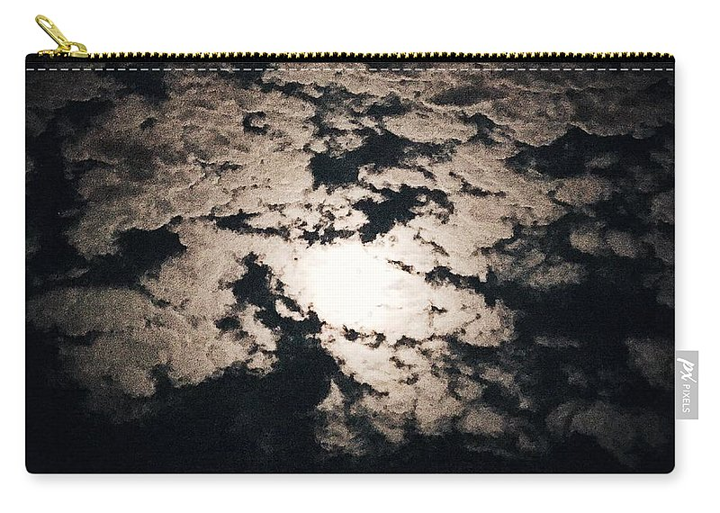 Moon Carry-all Pouch featuring the photograph Moonlight by Joseph Mari