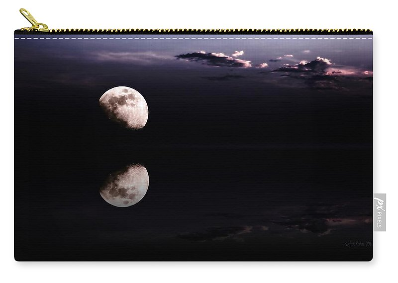 Moon Carry-all Pouch featuring the photograph Moonlight Shadow by Steve K