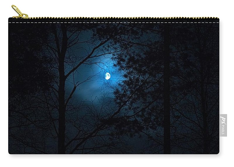 Lehtokukka Carry-all Pouch featuring the photograph Moonshine 02 by Jouko Lehto
