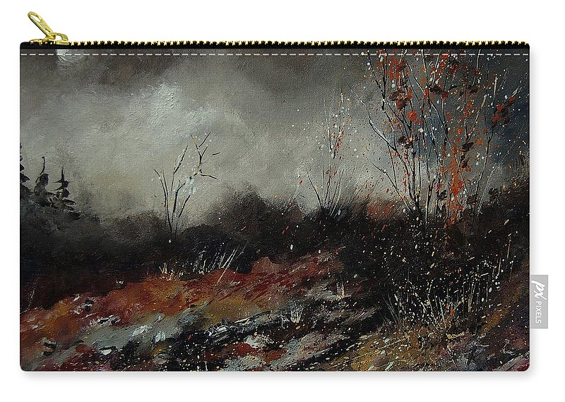 Landscape Carry-all Pouch featuring the painting Moonshine 459001 by Pol Ledent