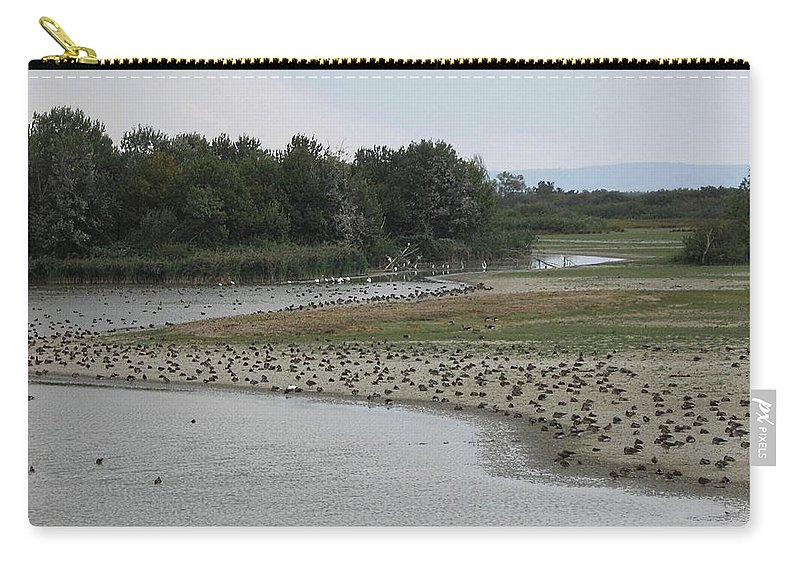Carry-all Pouch featuring the photograph Moor by Dragica Micki Fortuna