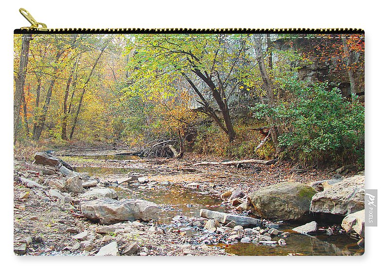 Moore\'s Creek Carry-all Pouch featuring the photograph Moore's Creek by Terry Anderson