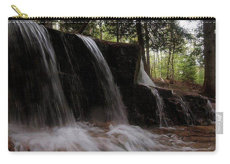 mountain Stream Carry-all Pouch featuring the photograph More Bars by Paul Mangold