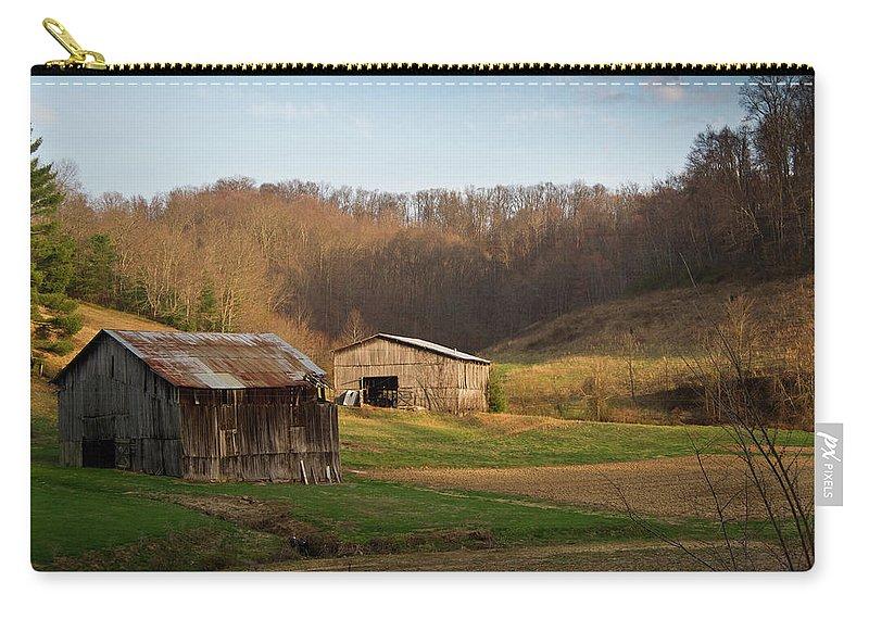 Kentucky Carry-all Pouch featuring the photograph Morgan County Farm Valey by Douglas Barnett