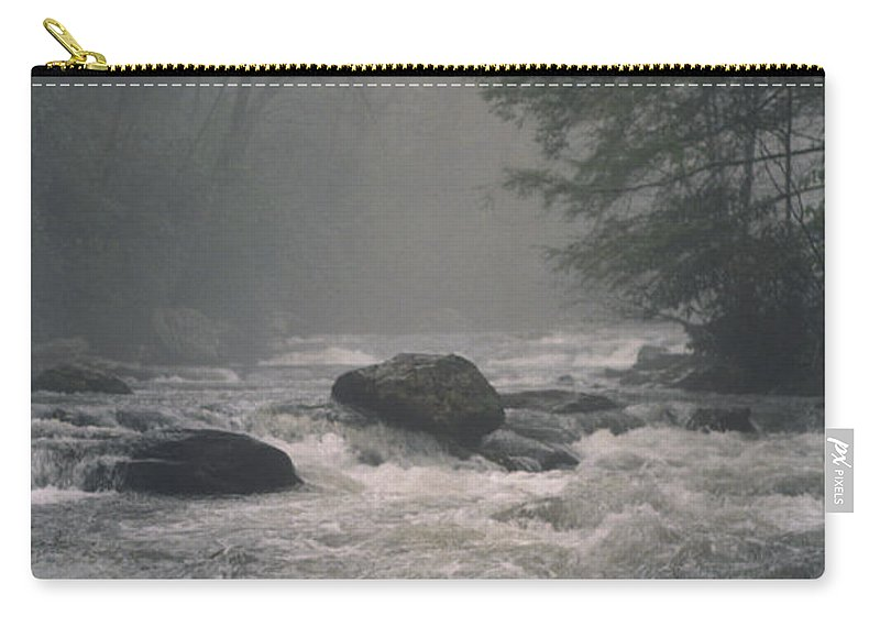 Rivers Carry-all Pouch featuring the photograph Morning At The River by Richard Rizzo