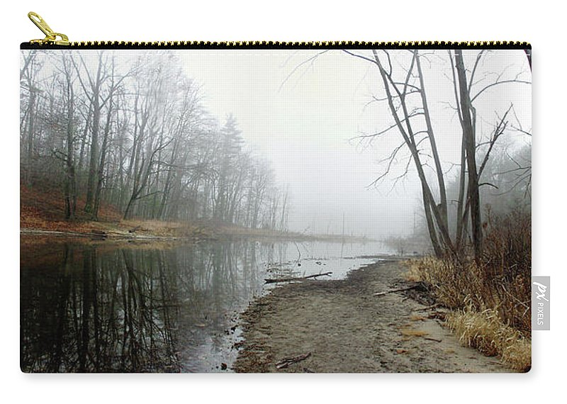 Color Carry-all Pouch featuring the photograph Morning Calm by Frederic A Reinecke