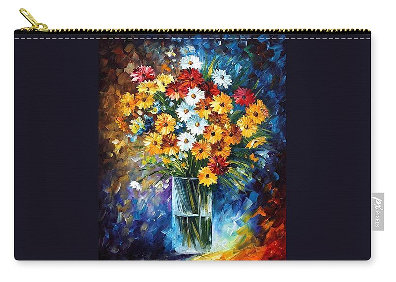 Afremov Carry-all Pouch featuring the painting Morning Charm by Leonid Afremov