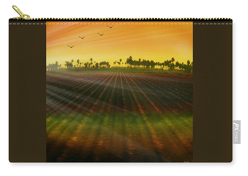 Landscape Carry-all Pouch featuring the photograph Morning Has Broken by Holly Kempe