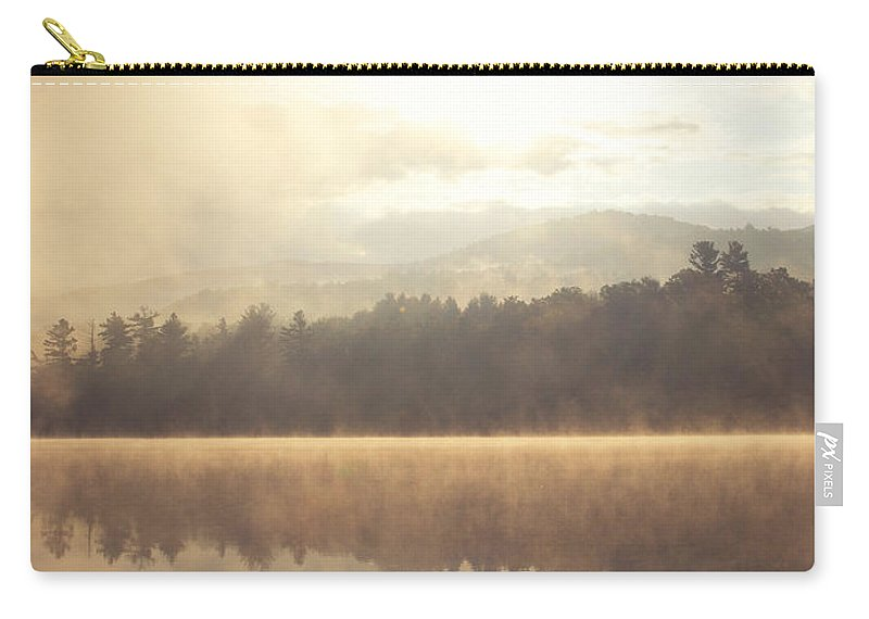 Mountains Carry-all Pouch featuring the photograph Morning Light Over The Mountains by Stephanie McDowell