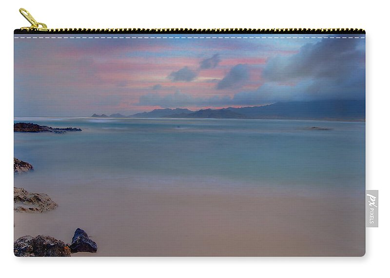 Landscape Carry-all Pouch featuring the photograph Morning Pastels by Michael Peychich