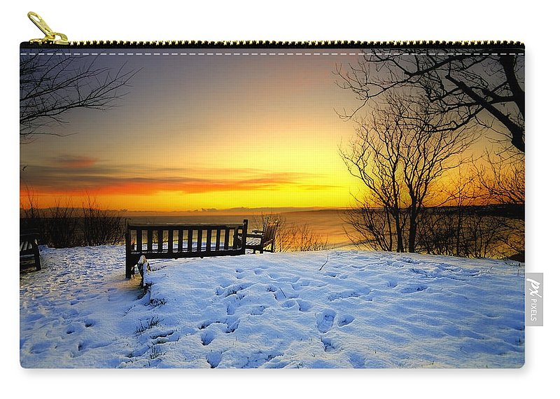 Morning Carry-all Pouch featuring the photograph Morning Sunrise by Svetlana Sewell