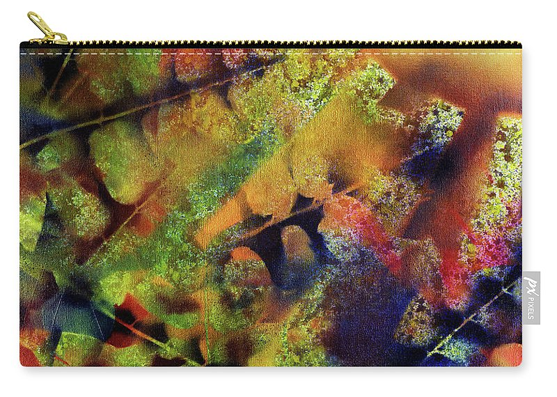 Sunset Carry-all Pouch featuring the painting Morning Walk by Miko At The Love Art Shop