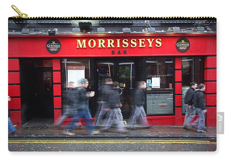 Pub Carry-all Pouch featuring the photograph Morrissey by Tim Nyberg