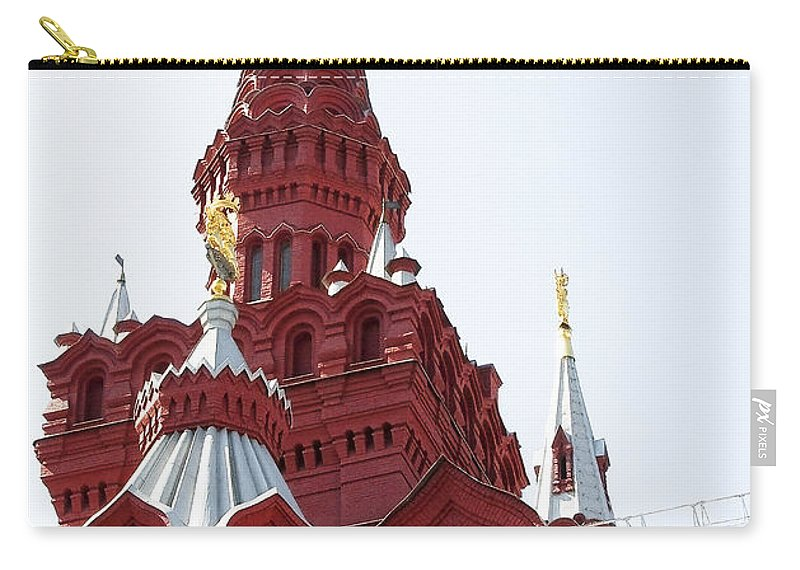 Architecture Carry-all Pouch featuring the photograph Moscow04 by Svetlana Sewell