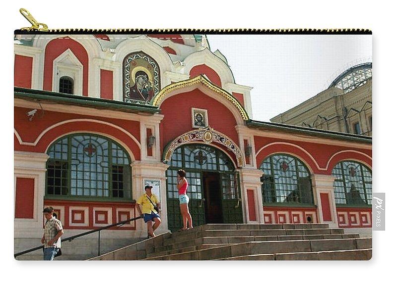 Architecture Carry-all Pouch featuring the photograph Moscow05 by Svetlana Sewell