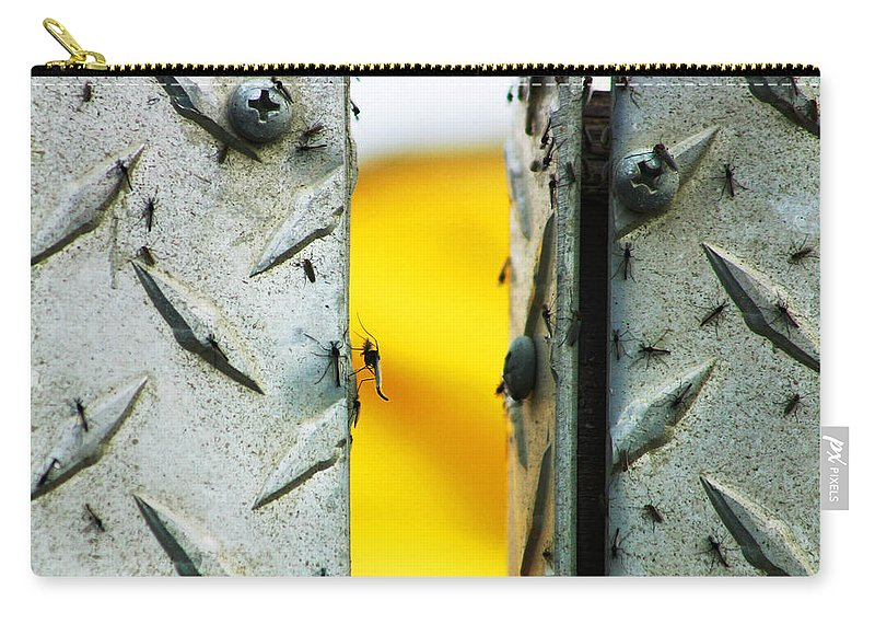 Mosquiros Carry-all Pouch featuring the photograph Mosquitos by Anthony Jones