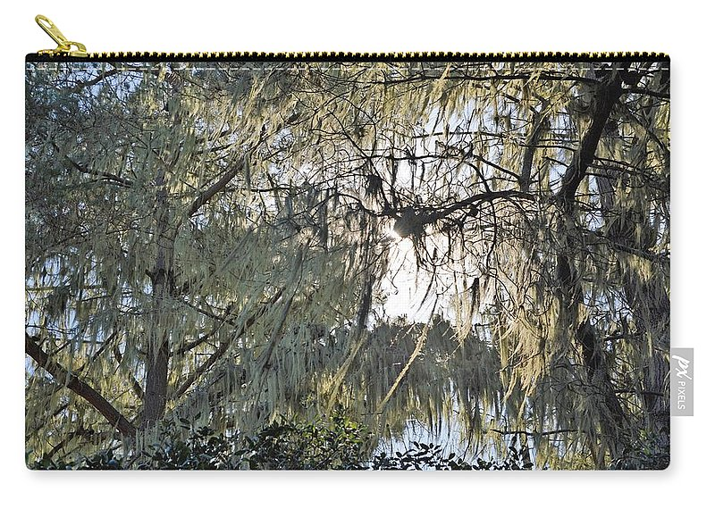 Moss Carry-all Pouch featuring the photograph Moss by Michael Brown