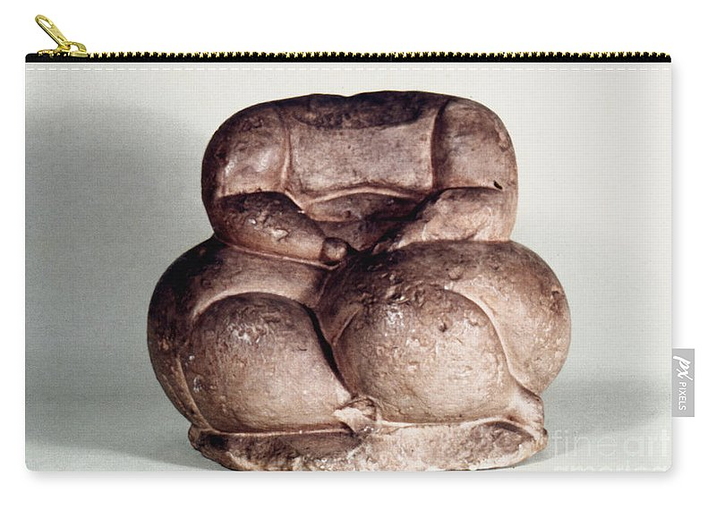 3500 B.c. Carry-all Pouch featuring the photograph Mother Goddess by Granger