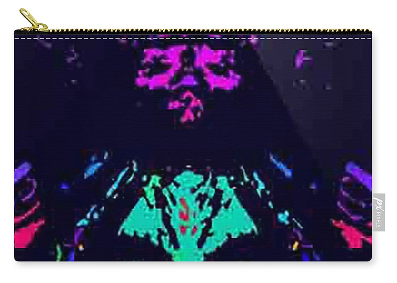 Carry-all Pouch featuring the digital art Mother Nature by Gabby Tary